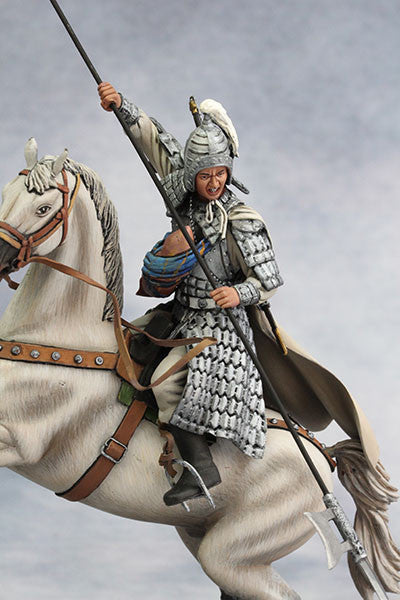 YZ90014 - Zhao Zilong at Changban Battle (208 A.D.) from YZCaesar - Piers Christian Toy Soldiers - 1