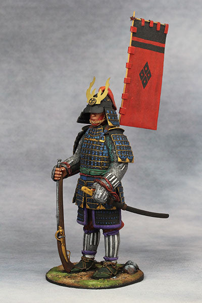 YZ90015 - Samurai with Harquebus (Late 16th Century A.D.) made by YZCaesar - Piers Christian Toy Soldiers - 2