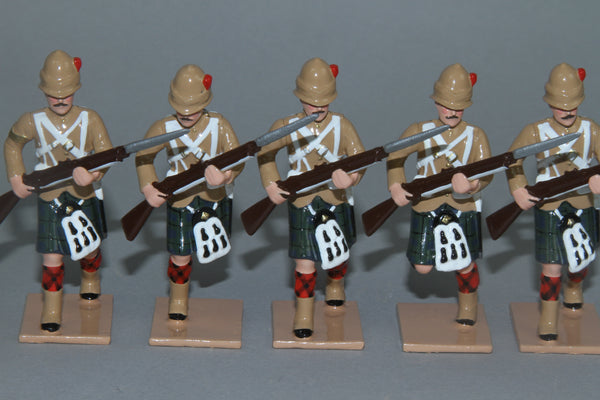 HR7F.add - Black Watch 42nd Highlanders in Khaki Tunics from Regal Toy Soldiers