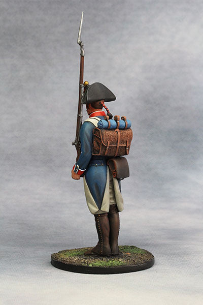 YZ90016 - Napoleonic French Infantry at attention, from YZCaesar - Piers Christian Toy Soldiers - 3