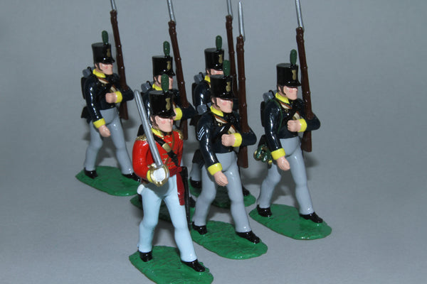 N555 - Napoleonic Calabrian Free Corps 1809-14 from Regal Toy Soldiers
