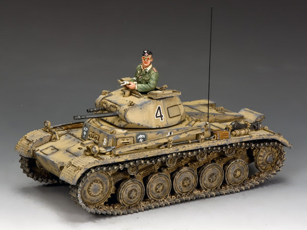 AK113 - Panzer II Ausf B, 21st Panzer Div, Afrika Korps - Piers Christian Toy Soldiers - 1