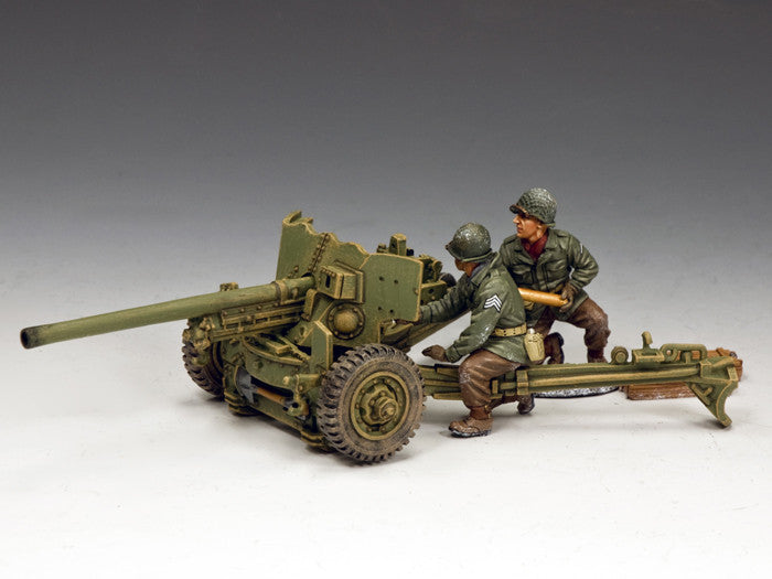 BBA083 - M1A1 57mm Anti-tank Gun. Battle of the Bulge American - Piers Christian Toy Soldiers