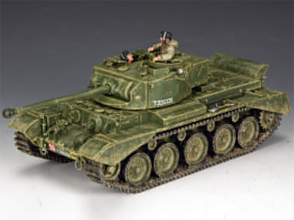 BBB001 - British Comet Tank, Battle of the Bulge British - Piers Christian Toy Soldiers - 1