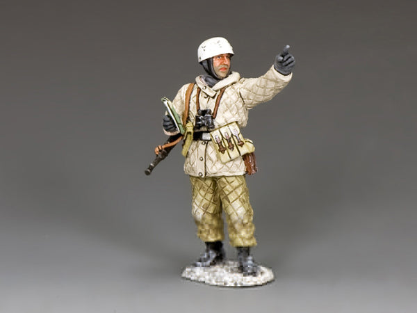 "BBG108 - ""Over there"", Fallschirmjager NCO, Battle of the Bulge German - Piers Christian Toy Soldiers"