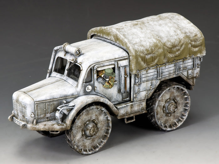 BBG111 - SKODA Radschlepper Ost - Battle of the Bulge German vehicle - Piers Christian Toy Soldiers - 1