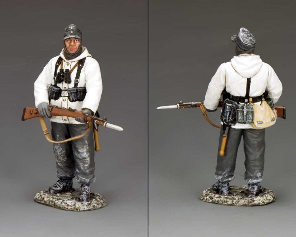 BBG116 - 'Friedrich', Battle of the Bulge German - Piers Christian Toy Soldiers - 2