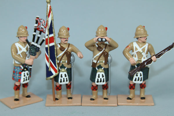 HR7A - 42nd Highlanders Command set with Khaki Tunis from Regal