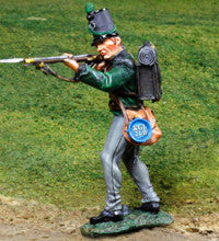 CS00818 - KGL 'Standing Firing' Napoleonic British forces - Piers Christian Toy Soldiers