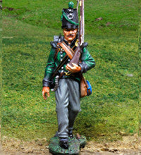 CS00819 - KGL Marching - Piers Christian Toy Soldiers