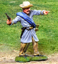 CS00822 - ACW Confederate Officer - Piers Christian Toy Soldiers