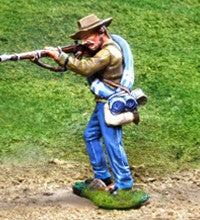 CS00824 - ACW Confederate soldier standing firing - Piers Christian Toy Soldiers