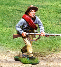 CS00828 - Reb Advancing, ACW Confederate - Piers Christian Toy Soldiers