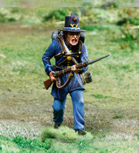 CS00851 ACW Union, 2nd Wisconsin Advancing - Piers Christian Toy Soldiers