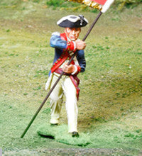 CS00854 - AWI American Continental Regimental Standard Bearer - Piers Christian Toy Soldiers