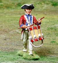CS00855 - AWI American Continental  Drummer - Piers Christian Toy Soldiers