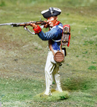 CS00860 - AWI American, Continental Soldier Standing Shooting - Piers Christian Toy Soldiers
