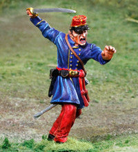 CS00861 - Wheat's Louisiana Tigers Commanding Officer, ACW Confederate. New releases. - Piers Christian Toy Soldiers