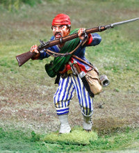 CS00867 - 'Parrying' Wheats Tiger Regiment ACW Confederate - Piers Christian Toy Soldiers