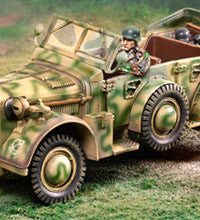 CS00879 - German Army Horch, Normandy - Piers Christian Toy Soldiers
