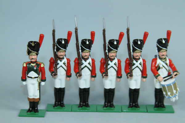 N506 - Napoleonic, Garde de Paris, 2e Regiment Grenadier 1807. Regal Toy Soldiers
