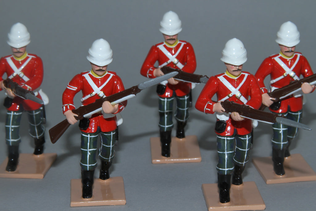 SC92E - 2nd Battalion Highland Light Infantry for Egypt/Sudan Campaign of 1882/85 from Regal Toy Soldiers