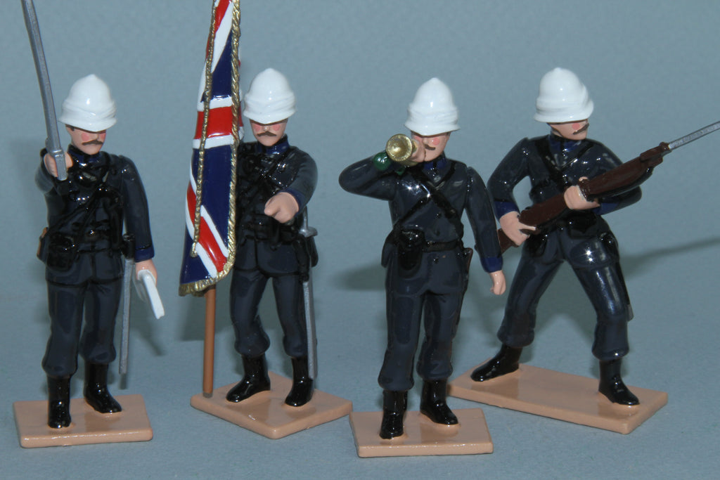 SC90 - 24th Middlesex (Post Office) Rifles Volunteers Command Set for the Sudan War of 1882-1885 from Regal Toy Soldiers