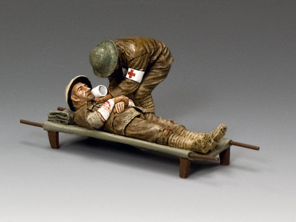 FW172 - A Nice Cup of Tea, Mate! First World War British from King & Country - Piers Christian Toy Soldiers