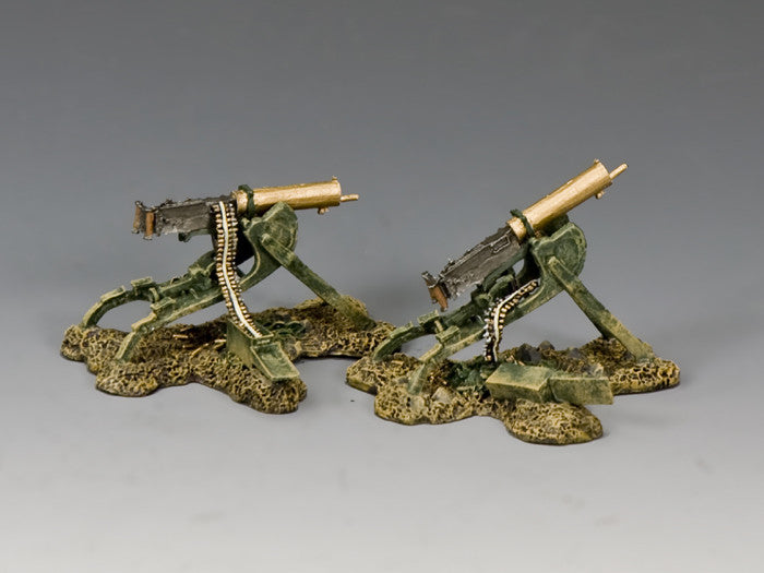 FW201 - 'Spoils of War' Captured Maschinengewehr 08, First World War - Piers Christian Toy Soldiers