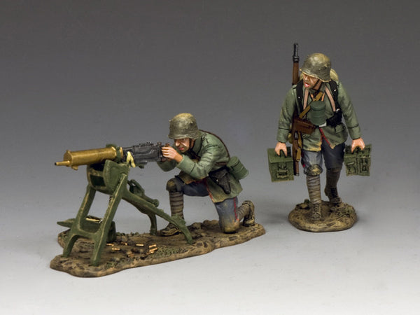 FW212 - Maxim Machine Gun Set, First World War German from King & Country - Piers Christian Toy Soldiers