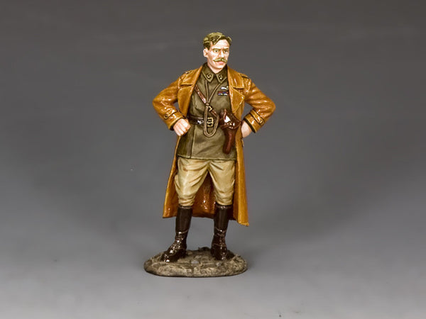 FW227 - Squadron Commander The Lord Flashheart, The First World War from King & Country - Piers Christian Toy Soldiers