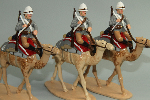 SC30B British Camel Corps Sudan 1884-85, from Regal Toy Soldiers - Piers Christian Toy Soldiers - 1