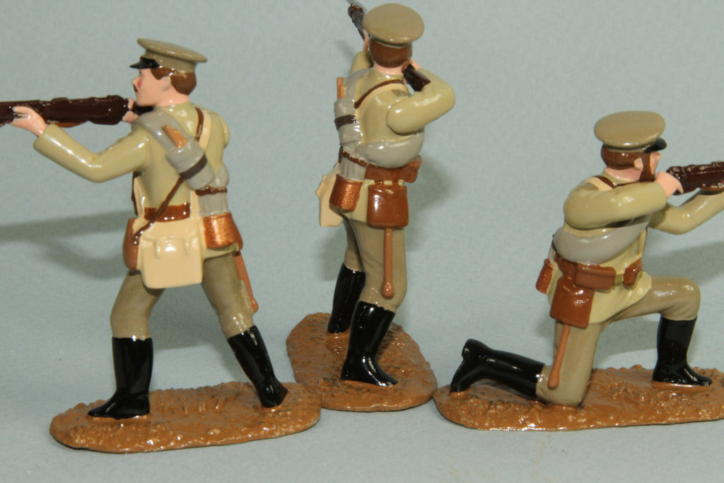 WW87A - Russian Infantry firing, 1914-18. From Regal Toy Soldiers - Piers Christian Toy Soldiers - 3