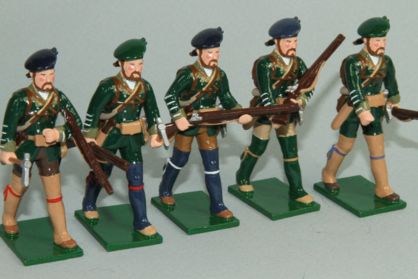 EA11 - Rogers Rangers from Soldiers of the World by Regal - Piers Christian Toy Soldiers - 1