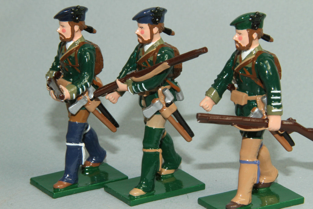 EA11 - Rogers Rangers from Soldiers of the World by Regal - Piers Christian Toy Soldiers - 2