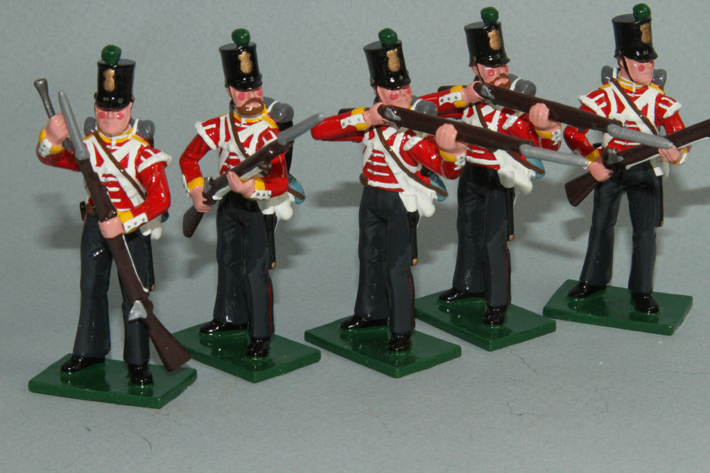 CW55B - Crimean War British 77th Regiment from Regal Toy Soldiers - Piers Christian Toy Soldiers - 1