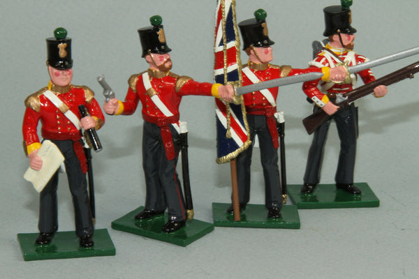 CW55A - Crimean War British 77th Regiment Command set, from Regal - Piers Christian Toy Soldiers - 1