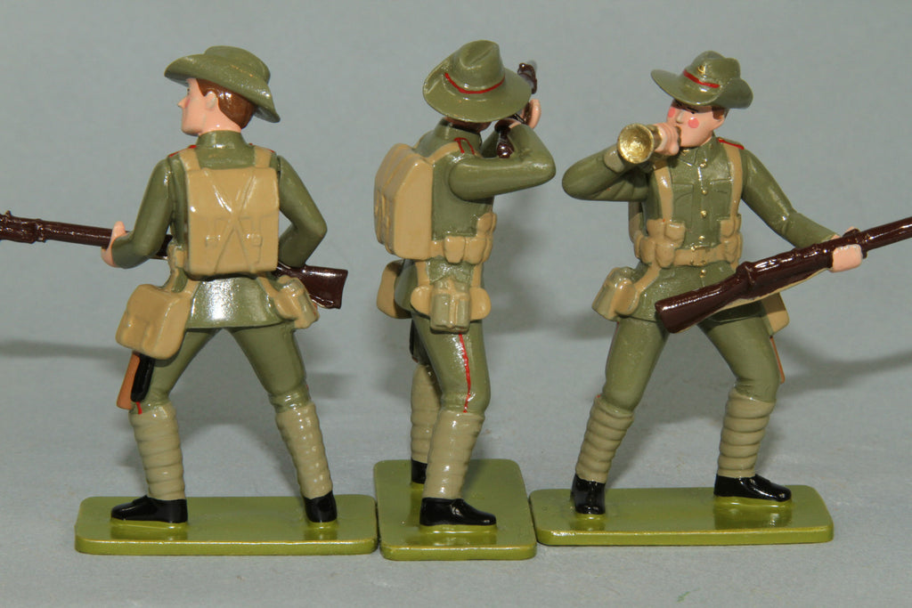 GW6 - Canterbury Infantry Battalion, Gallipoli 1915. Made by Regal Toy Soldiers - Piers Christian Toy Soldiers - 3