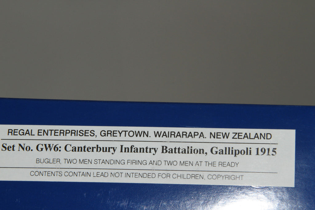 GW6 - Canterbury Infantry Battalion, Gallipoli 1915. Made by Regal Toy Soldiers - Piers Christian Toy Soldiers - 4