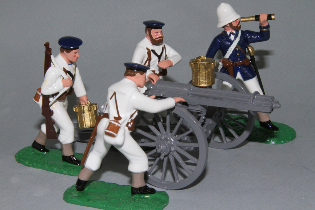 ZW25 - Royal Navy Gatling Gun Zulu War of 1879 from Regal Toy Soldiers
