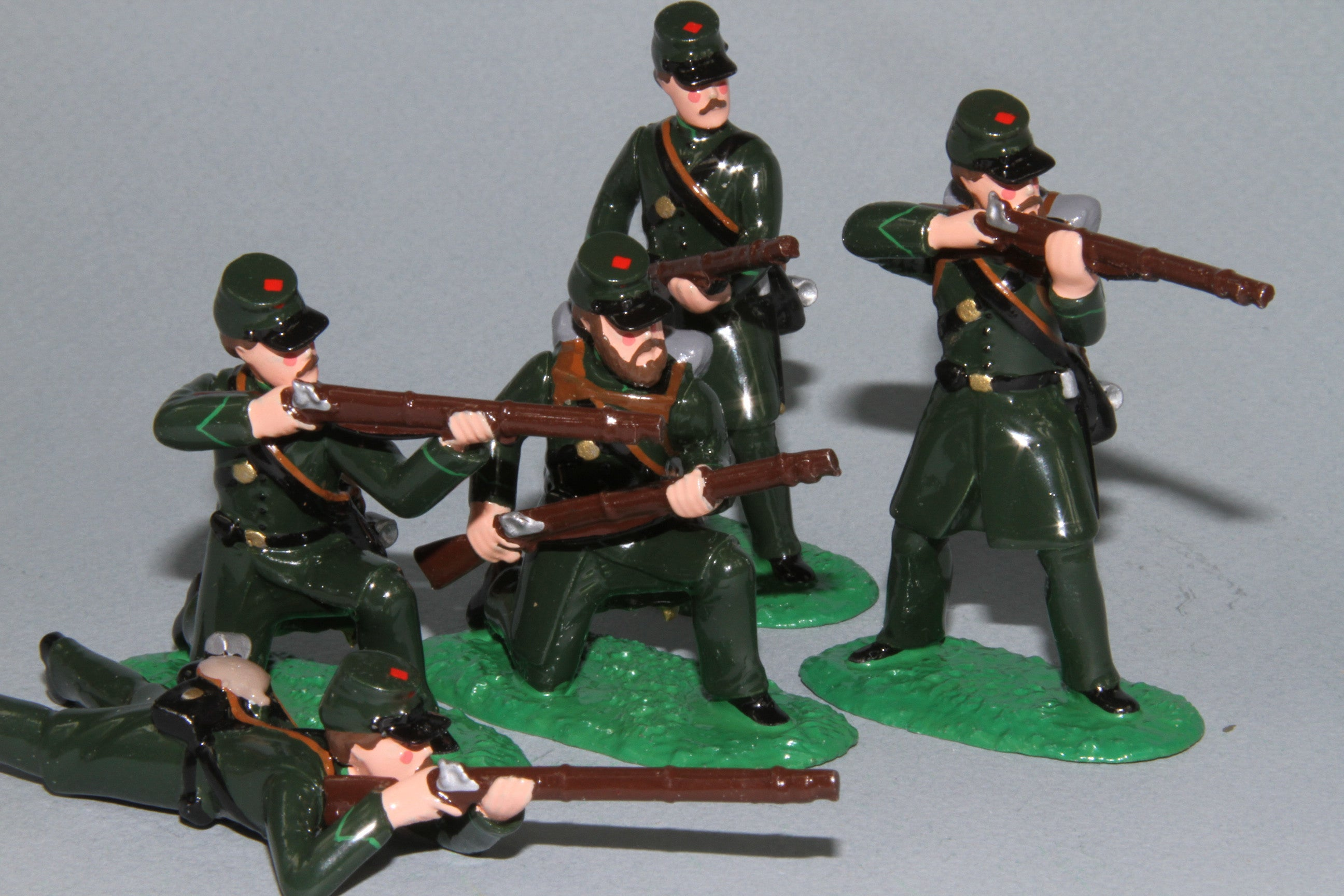 ACW02 - ACW, Berdan's Sharpshooters in action from Regal Toy Soldiers