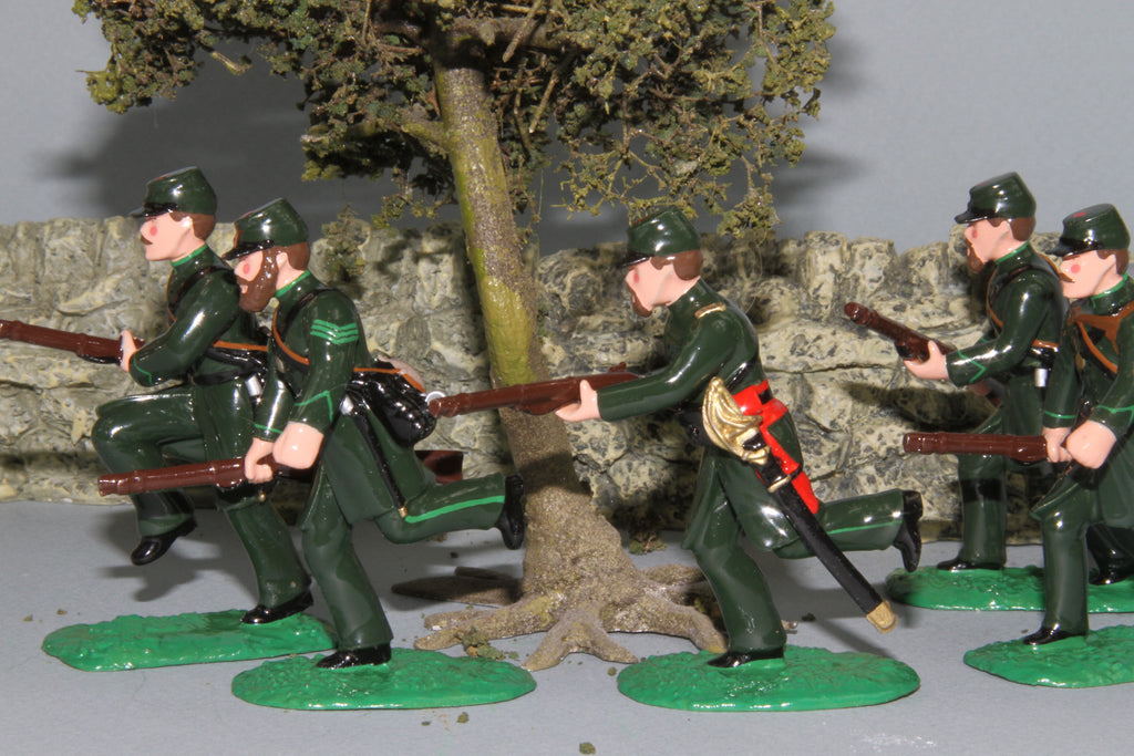 ACW01 - ACW, Berdan's Sharpshooters in action from Regal Toy Soldiers