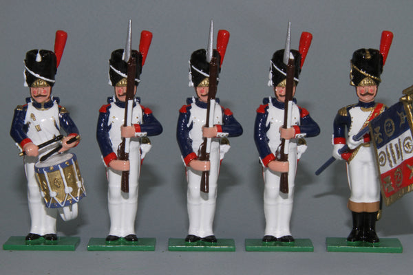 N444C - Napoleonic French Grenadiers in Review, made by Regal Toy Soldiers