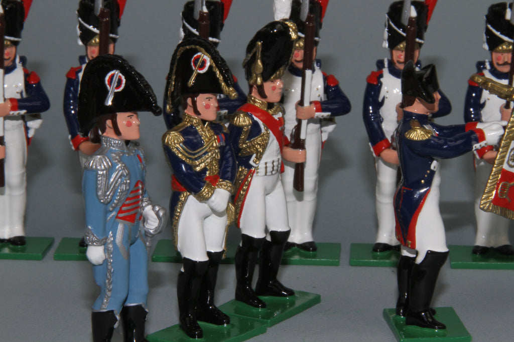 N444D - Imperial Review - Generals, made by Regal Toy Soldiers