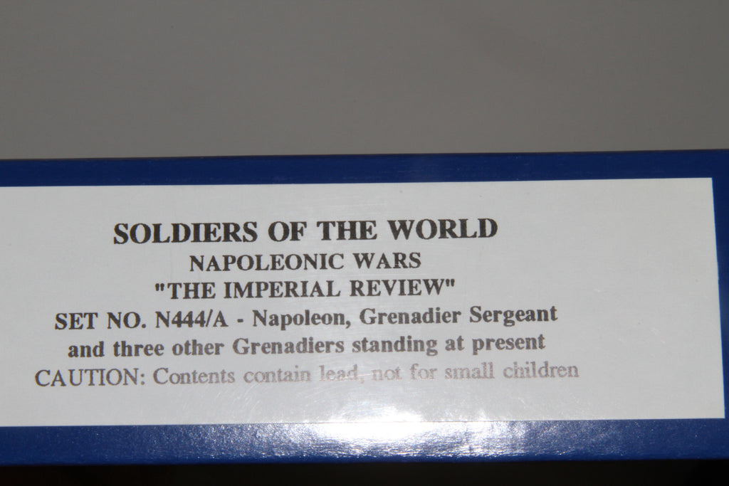 N444A - 'The Imperial Review' NAPOLEON from Regal Toy Soldiers