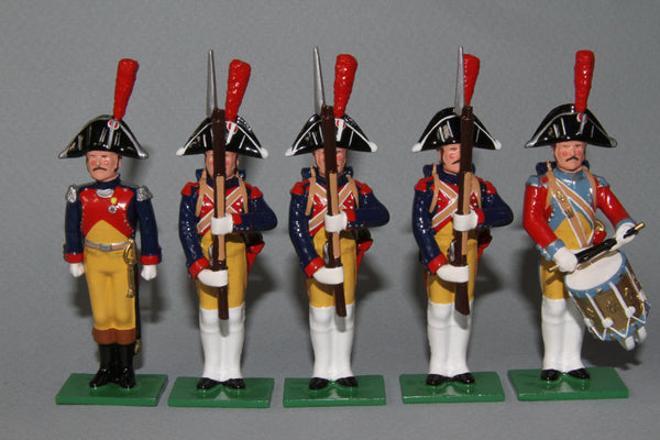 N447A - Gendarmes d'Elite Foot Company 1802, Regal Napoleonic