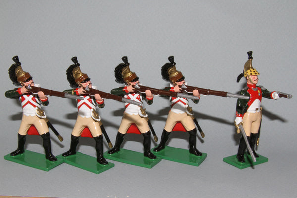 N450 - French Napoleonic 4th Regiment of Dragoons (dismounted) from Regal