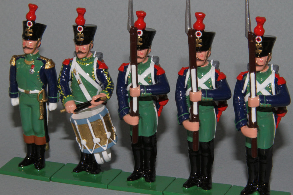 N666 - French Napoleonic Costal Defence Artillery of 1809 from Regal Toy Soldiers