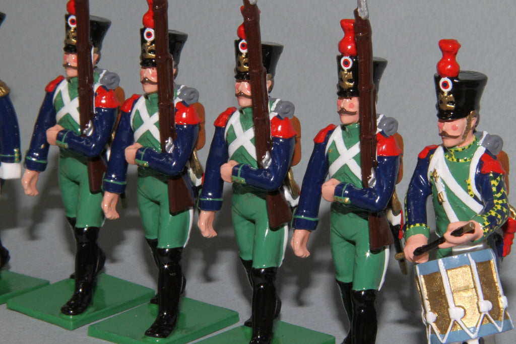 Copy of N397a - Costal Defence Artillery Regiment of 1809 from Regal Toy Soldiers
