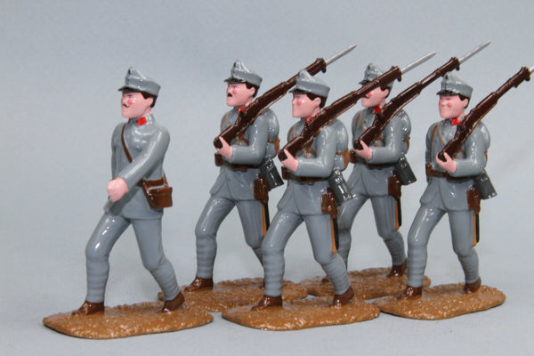 WW90F - Austrian Infantry 1915-16 From Regal Toy Soldiers - Piers Christian Toy Soldiers - 1